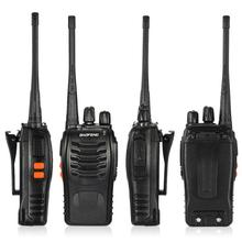 PKR 2,700.32  33%OFF | BaoFeng 2PCS 16CH FM UHF 400-470MHz Talkie Walkie Transceiver 2-way Radio Portable Handheld Interphone Flashlight