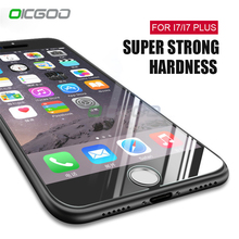 Buy OICGOO 9H Premium Tempered Glass iPhone 7 7 Plus Ultra-thin Screen Protector Film iphone 7 Plus 7 Protective Glass for $1.17 in AliExpress store