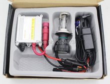H4 Xenon Motorcycle Socket Hi Low Moto Light HID 35W Slim Silver Ballast  BiXenon Kit 4300K 5000K 6000K 8000K 12000K