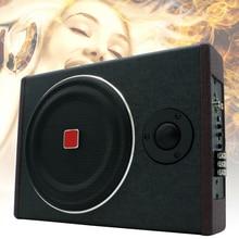 8 Inch Car Subwoofer 600W Active Seat Speaker Stereo Power Amplifier Subwoofer Car Audio Speaker Stereo Speaker Amplifier