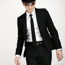 Men's Wedding Suit Clothing Slim Business Formal Party Classic Including Black Jacket Pants Blazer