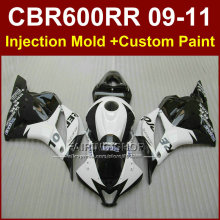 Repsol customize fairing set for HONDA CBR600RR fairings 2009 2010 2011 cbr600rr ABS white bodykit CBR 600 RR 09 10 11+7Gifts