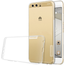 Nillkin Transparent Clear Soft silicon Nature TPU Protector cover for huawei p10 case cover 5.1 inch p10 for huawei phone bags