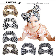 1PC Baby Kids Girl Child Toddler Infant Flower  Bow Hairband Turban Knot Rabbit Headband Headwear Hair Band Accessories KT037