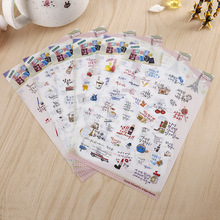 DIY Colorful Romantic trip to Paris 3D kawaii Stickers Diary Planner Journal Note Diary Paper Scrapbooking Albums PhotoTag