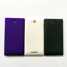 High Quality New For Sony Xperia C S39h C2305 Battery Back Housing Door Cover 3 Color + Free Tracking