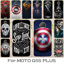 AKABEILA Phone Case Cover For Motorola Moto G5S Plus XT1803 XT1805 XT1806 XT1804 XT1802 Silicone Soft TPU Cases Spider-Man Cover