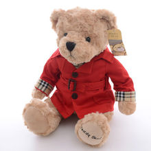 Friend's Gift Vogue Large Teddy Bear Plush Decor Collection Doll Toy 12*6''  #LNF