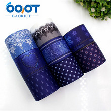 OOOT BAORJCT 177205 38mm 10yard/lot Cartoon Ribbons Thermal transfer Printed grosgrain Wedding Accessories DIY handmade material(China)