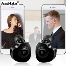 kebidu 2 in 1 Mini earphones Twins Wireless Bluetooth V4.1 Stereo Headset True bluetooth Earbuds TWS stereo wireless earbuds(China)