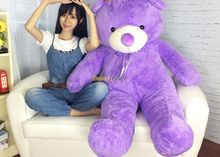 Fancytrader 2014 New Arrival 59'' / 150cm Super Lovely Soft Stuffed Jumbo Purple Lavender Teddy Bear Toy, Free Shipping FT50091