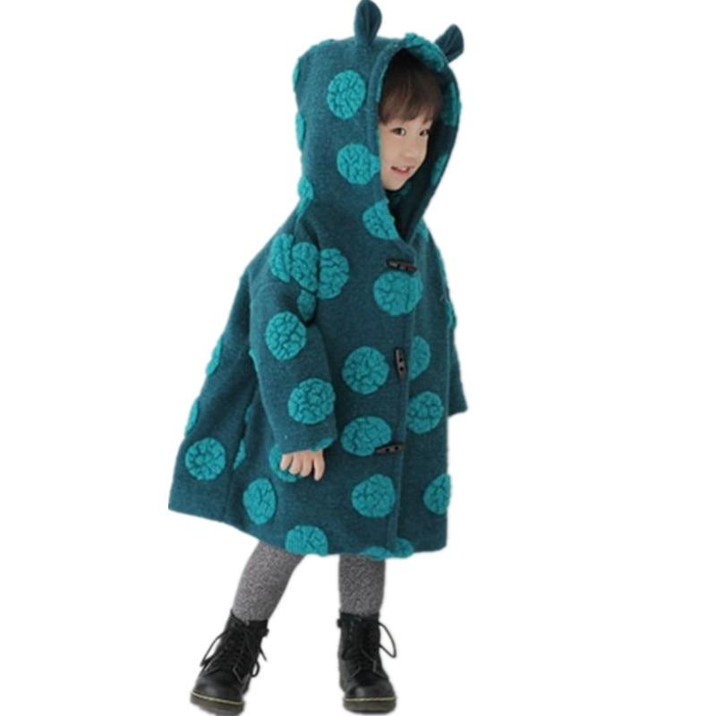 2017 New Fashion Autumn Winter Baby Boys Girls Coat Thicken Children Woolen Cloth Overcoat Cute Leisure Loose Kids Clothes DC049<br><br>Aliexpress