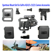Outdoor Rifle Gun/Fishing Rod/Bow Sportsman Camera Mount Clip For GoPro 2 3 4 Free Shipping!