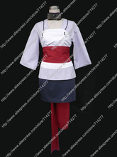 Free shipping Custom cheap Temari Cosplay Costume from Naruto Shippuden Anime clothing Christmas