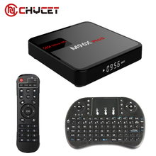 Chycet M96X Plus Android 6.0 TV Box S905X Quad-core 2G/16G 2 Bluetooth 4K 1080P Media Player Set Top Box TV Channel + keyboard