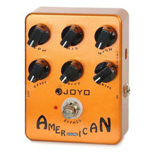 JOYO JF-14 American Sound Guitar Effect Pedal with Deluxe Amp Simulator and Unique Voice Control