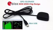 STOTON GNSS series supports GPS GLONASS dual mode operation Mini USB GNSS receiver module