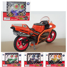 Scale 1:24 Limited Collector Motorcycle Model Series MotoGP Apulia Yamaha Motorcycle Toys Best Birthday Gifts Toy for Children