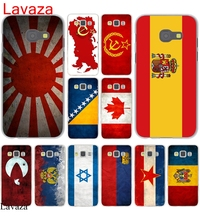 Lavaza Russian Spain flag  Pakistan Canada Israel Hard Case Cover for Galaxy A3 A5 J5 (2015/2016/2017) & J3 J5 Prime A7 J7