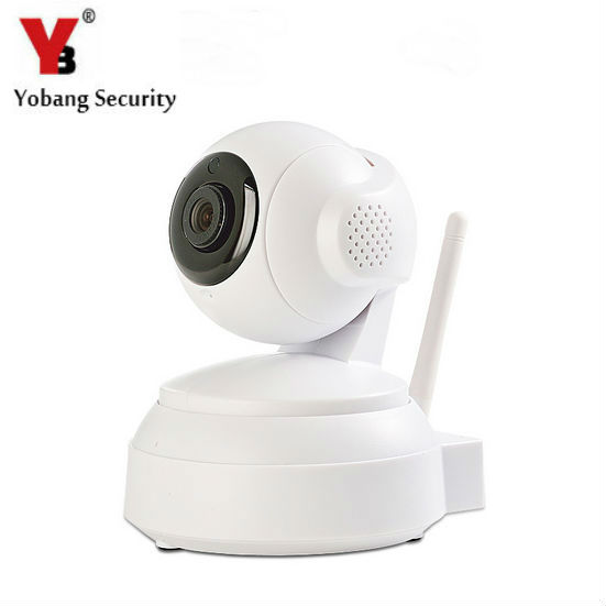 YobangSecurity Wireless Wifi IP Cam Monitor 720P Waterproof Security Camera Built-in IR CUT Night Version Motion Detection Alarm<br>