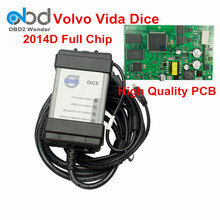 High Quality For Volvo Scanner Vida Dice 2014D Diagnostic Tool Full Chip Green PCB Board For Volvo Dice Pro With Multi-Language