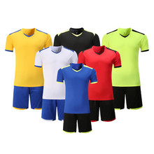 Adsmoney men kid academia team training soccer suit football cheap authentic sports youth football jerseys professional custom(China)