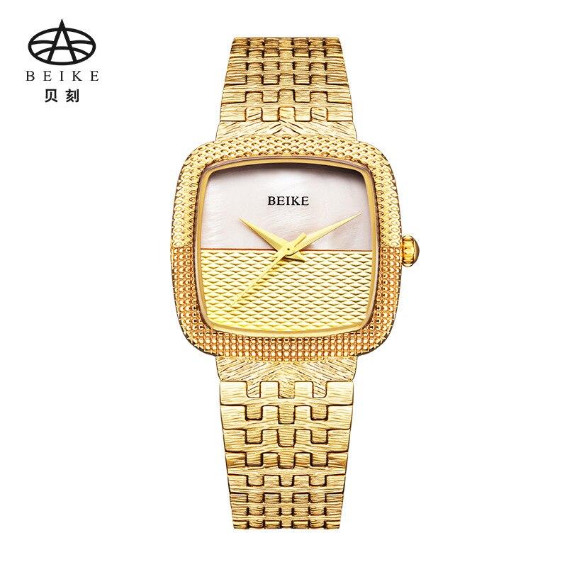 BEIKE Women Watch Luxury Brand Fashion Casual Ladies Gold Watch Quartz Simple Clock Relogio Feminino Reloj Mujer Montre Femme<br>