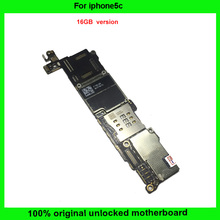 100% Good Working IOS system 16GB Unlocked & 100% Full Completely Original Mainboard For iphone 5C Motherboard with Chips