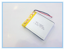 Liter energy battery 3.7 V rechareable batteries PS naviator MP4 battery cell 105065 battery(China)