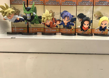 Dragon Ball 6pcs/set Trunks Mini Action Figures 1/10 scale painted figure Gokou Cell Android 18 & 17 PVC figure Toys Brinquedos