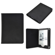 Smart PU leather case cover for Kobo Glo 6 inch Ebook Ereader 1pcs + Screen protector film + Stylus pen free shipping