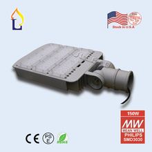 1pcs/lot USA warehouse stock 80/150/200/250W outdoor led road Community Garden street light with 3030 meanwell driver IP65(China)