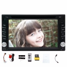 6.2inch 2din Car headunit Auto GPS Navigation Car DVD CD Video Player radio Touch Screen Car Stereo Audio FM AM Radio Bluetooth