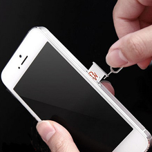 10 Pcs/Lot SIM Card Eject Pin Key For iPhone 5/5S/SE/6/6S plus Mobile Phone Card Pin For iphone 7 7 Plus Retail Package(China)