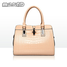 hot women patent leather handbags PU handbag leather women shoulder bag top-handle bags lady crossbody bag female bag(China)