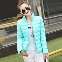Winter Warm 2016 Fashion cotton high-neck women short warm winter wearing down jacket coat