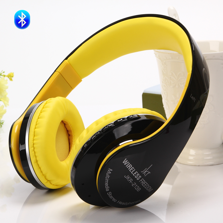 Stereo Handsfree Headfone Casque Audio Bluetooth headphon  Headset Earphone Cordless Wireless Headphone Support TF Card FM Radio<br><br>Aliexpress