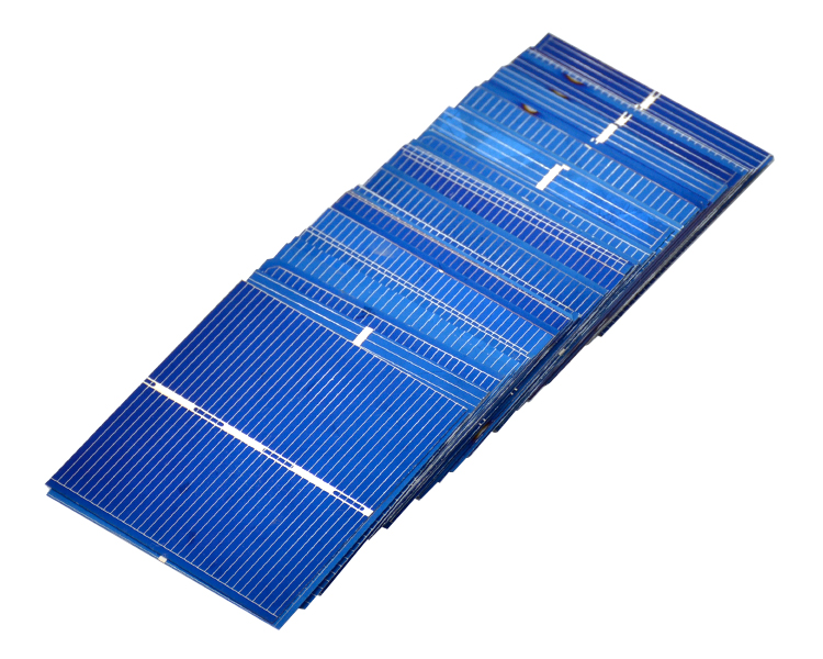 50Pcs Solar Panel China Painel Solar For DIY Solar Cells Polycrystalline Photovoltaic Panel DIY Solar Battery Charger 5