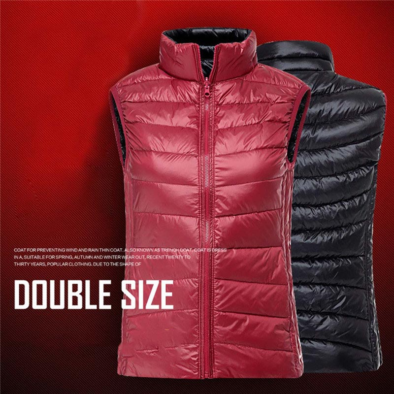 PGM Golf Clothes Womens Down Jacket Coat Double Thin Down Vest Lady Girls Sleeveless Golf Down Waistcoat Autumn Winter Clothing<br><br>Aliexpress