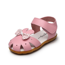Buy Summer New Girls Beach Sandals Fashion Children Soft Breathable Sandals Kids Princess Bow Antislip Flat Sandals Size 21-30 for $8.44 in AliExpress store