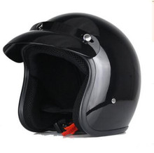 Free Shipping Fashion Motorcycle Half Face Helmet Casco Capacetes Scooter Cafe Racer Helmet