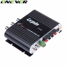 Car Amplifier 12V Mini Hi-Fi Amplifier Subwoofer Booster Radio MP3 2 Channel Stereo for Car Motorcycle caixa de som amplificada