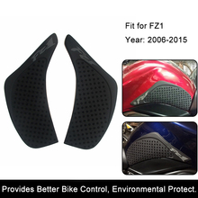 For Yamaha FZ1 FZ-1N FZ1N FZ1S FZ 1S 06-15 Motorcycle Anti slip Tank Pad 3M Side Gas Knee Grip Traction Pads Protector Stickers(China)