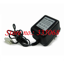 HENGLONG 3818/3818-1 RC tank German tiger I 1/16 spare parts No.7.2V 400mAh big tamiya adaptor 220-240V battery charger