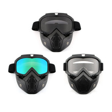Newest Motorcycle Helmet Motor Riding Face Mask Dust Preventing Helmets Anti-UV Goggles Shield Windproof Nose Hot Drop Shipping