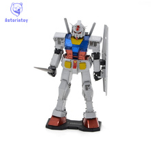 3D Metal Puzzles Color Gundam RX-78-2 colour Metal 3D Metal model NANO styles Chinses Metal Earth DIY Creative gifts