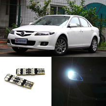 2pcs Advanced LED Width Lamps Car Wedge Warning Light Bulb For Mazda 6