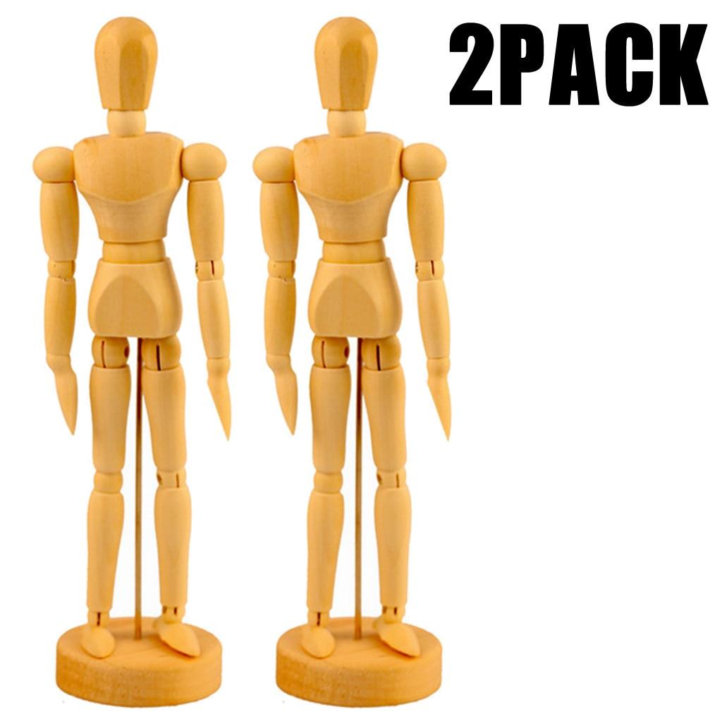 Mannequin Stand Modell für Puppen Tuch Kleid Kleid Display Halter 2 Jt Puppenständer