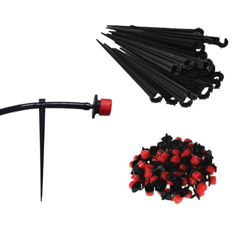 10m/20m Automatic Micro Drip Irrigation System Garden Irrigation Spray Self Watering Irrigation Kits with Adjustable Drippers