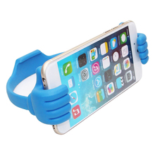 Multi-color Mobile phone Holder Thumbs Modeling Phone Stand Bracket Holder Mount for ipad iPhone6 5S Samsung Cell phone Tablets